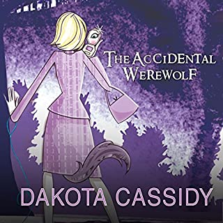 The Accidental Werewolf audiobook cover art