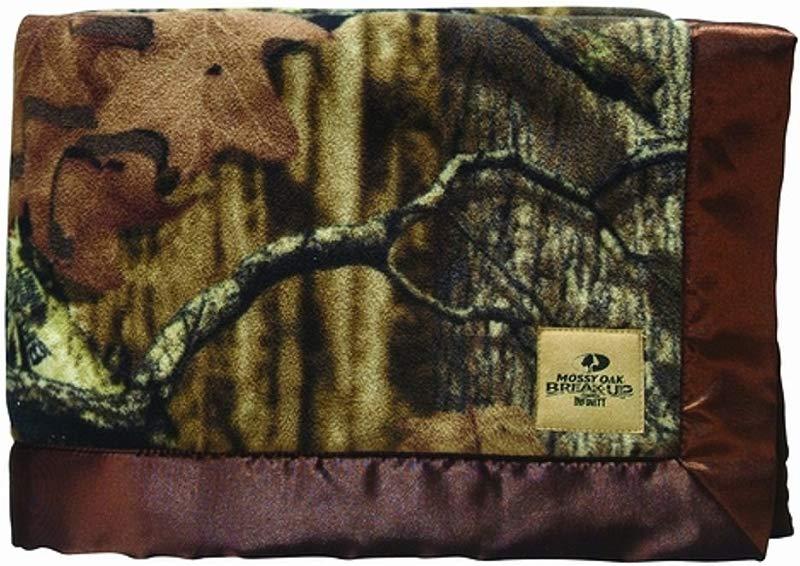 Mossy Oak Infinity Camo Baby Blanket 30 X 40