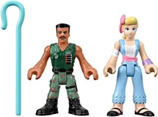 Toy Story Fisher-Price Disney Pixar 4 Combat Carl and Bo Peep
