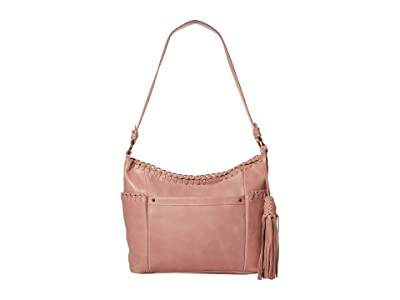 The Sak Keira Hobo by the Sak Collective (Blush Whipstitch) Hobo Handbags