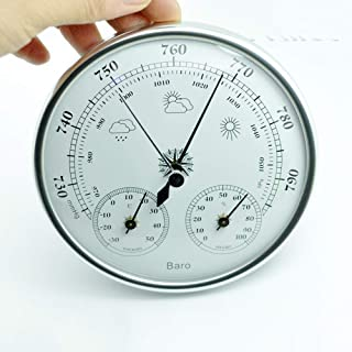 GOOG Analog Barometer Thermometer Hygrometer Wall Hanging Temperature Humidity Monitor Atmospheric Pressure Meter for Home use