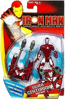 Iron Man Armored Adventures Animated Action Figure Silver Centurion Iron Man
