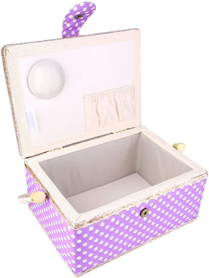 Thread Needle Storage Box Double-Layer Sewing Max 40% OFF Good Spring new work one after another Basket Elasti