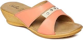 PARAGON SOLEA Plus Women's Pink Flip-Flops