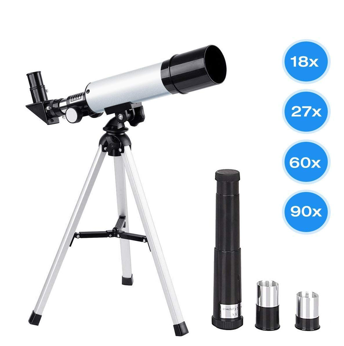 Telescopes Manfore Astronomical Magnification Educational