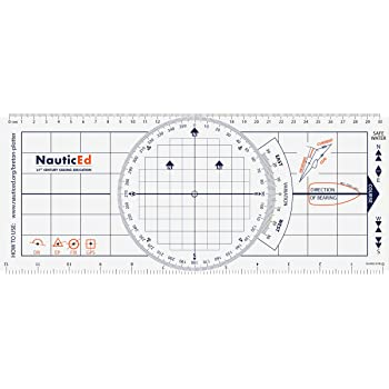 NauticEd Breton Plotter Protractor