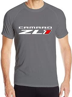 GalenCFlora Men's Bevan Camaro ZL1 Short Sleeve Tee Fashion T Shirt