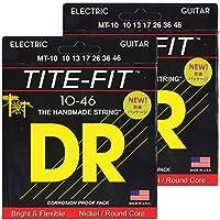 DR エレキ弦 TITE-FIT ニッケルメッキ .010-.046 MT-10 2SET パック