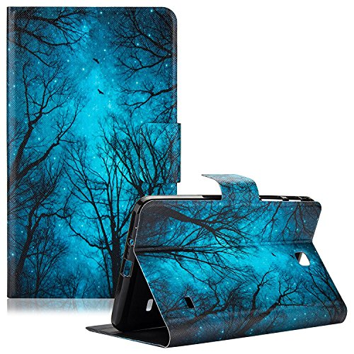 Smart Case for Samsung Galaxy Tab 4 7.0 Inch, Dteck Slim-Fit Synthetic Leather Folio Wallet Cover Stand Smartshell with Auto Wake/Sleep for Samsung Tab 4 7.0' Tablet SM-T230/ T231/ T235, Green Forest