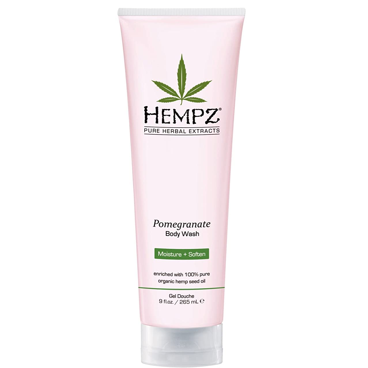 熟読鳴らす浮くby Hempz POMEGRANATE HERBAL BODY WASH 8.5 OZ by HEMPZ
