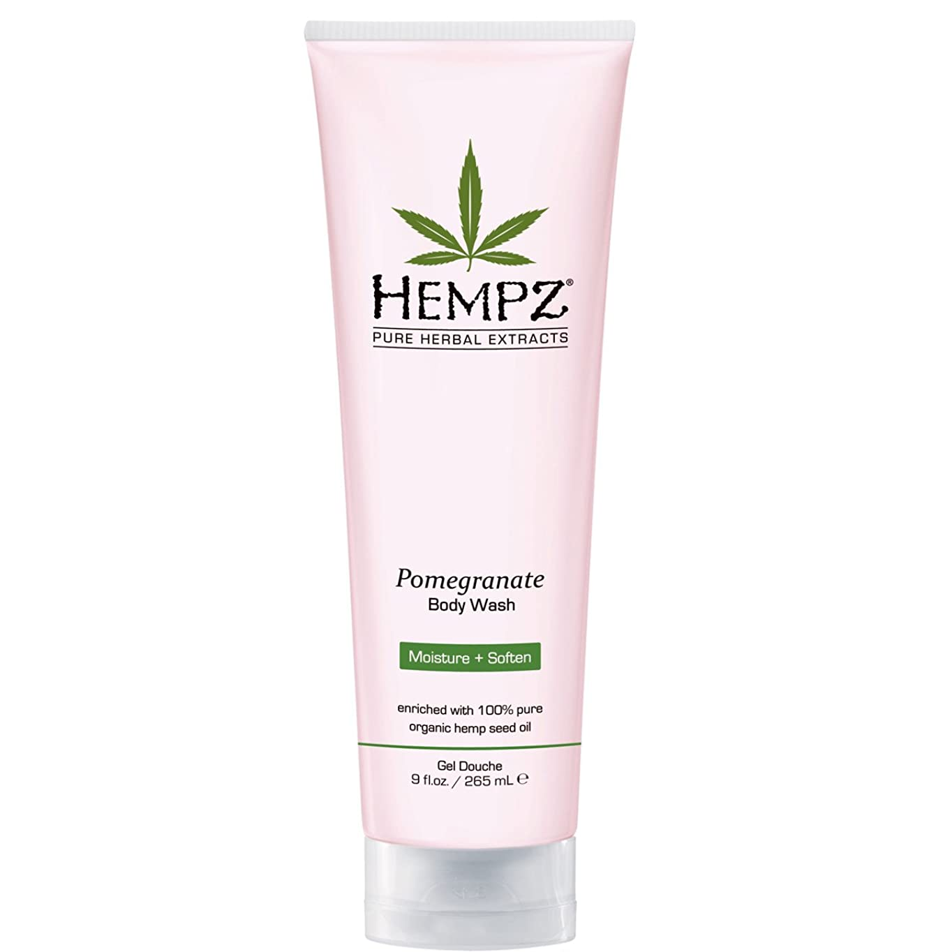 入植者縫う可動by Hempz POMEGRANATE HERBAL BODY WASH 8.5 OZ by HEMPZ