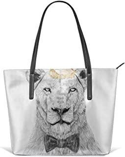 Get The Party Started Leather Tote Large Purse Shoulder Bag Portable Storage HandBags Convenient Shoppers Tote