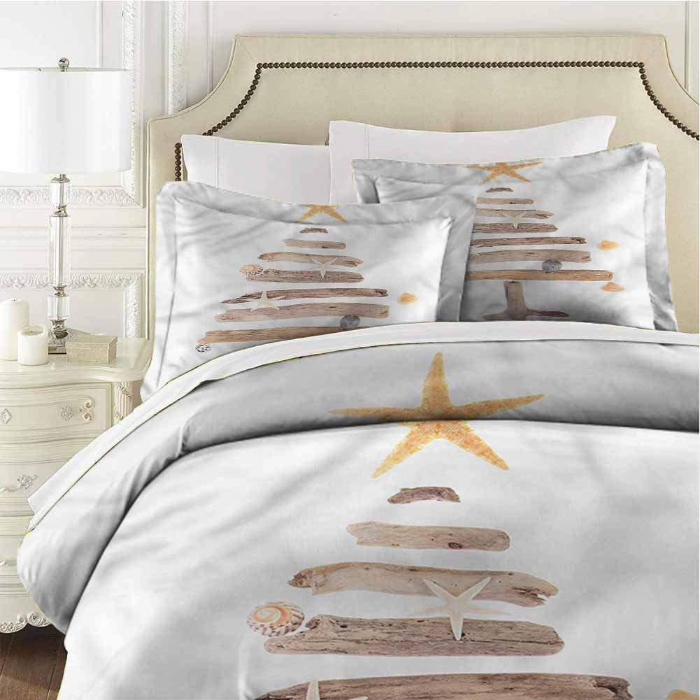 Mannwarehouse Christmas Limited price Bedspread Coverlet Tree Na Raleigh Mall Set Driftwood