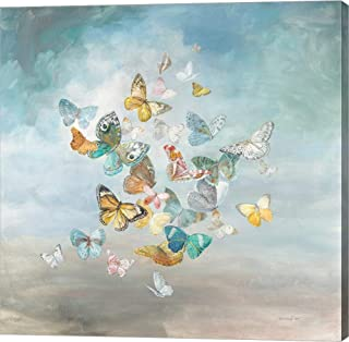 Beautiful Butterflies by Danhui NAI Canvas Art Wall Picture, Gallery Wrap, 14 x 14 inches