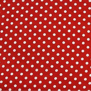 25 * 25 25cm Literie Tissu de Coton DIY Floral Pois Assortis Carr/és Trousse De Literie D/écoup/ée Quarters Bundle pour Quilting Couture Patchwork TOPINCN 7pcs 25