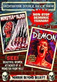 Grindhouse Double Shock Show: The Demon (1981) / Monster Of Blood (1982)