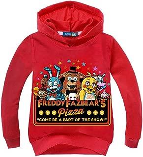 Kid Boy Girl Five Nights at Freddy's Hoodies-3D Printed Cartoon Pullover Hooded Tops