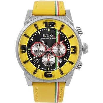 [アイティーエー]I.T.A. Gran Chrono(グラン クロノ) ジャッロ 腕時計 27.00.03 日本限定100本 [正規輸入品]