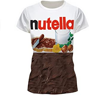 nutella couple shirt
