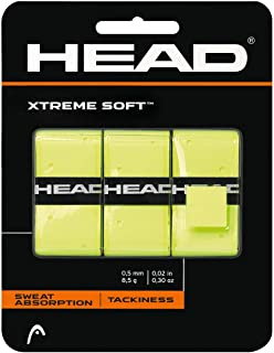 HEAD Xtreme Soft Racquet Overgrip - Tennis Racket Grip Tape - 3-Pack