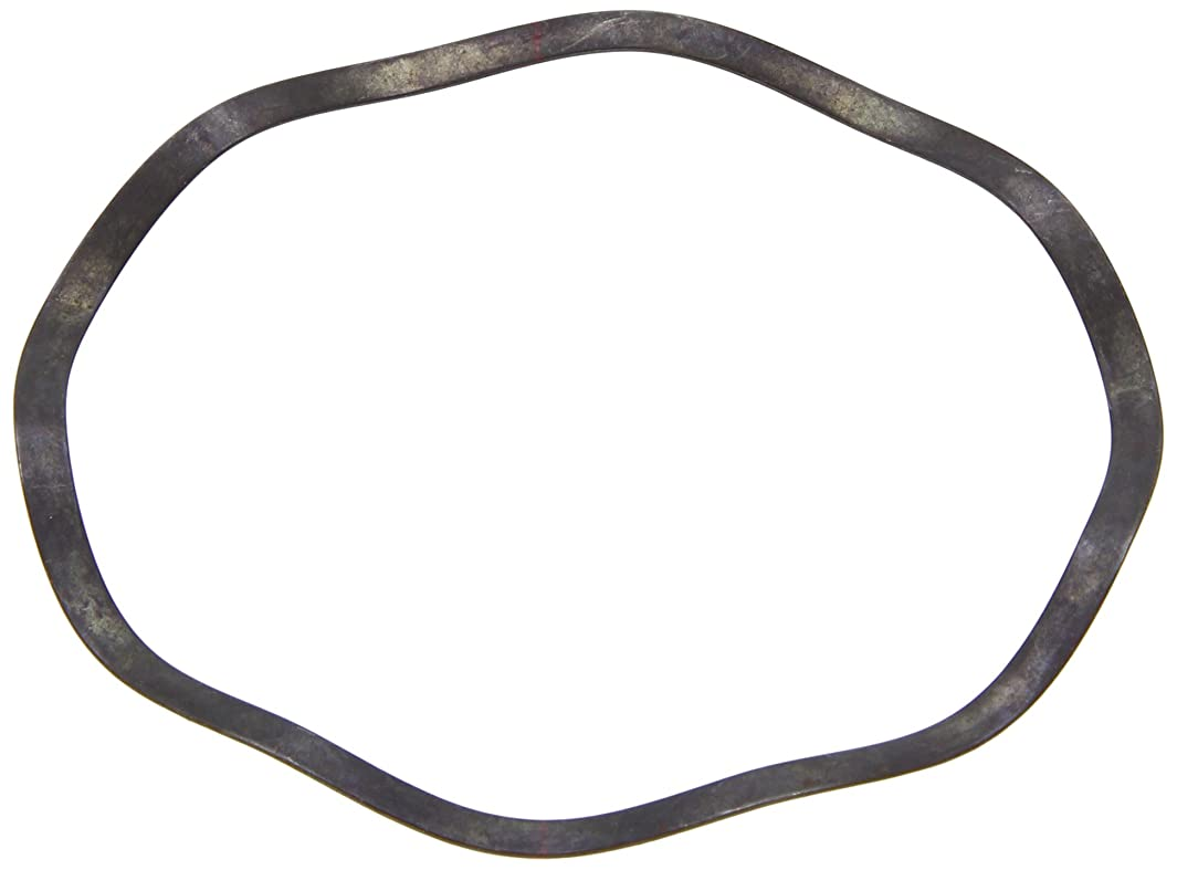 Compression Type Wave Washer, Carbon Steel, 7 Waves, Inch, 3.898