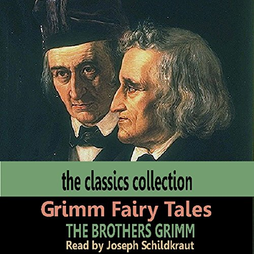 Grimm Fairy Tales audiobook cover art