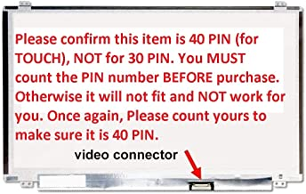 INSPIRON 15 With Touch for 5551 5552 5555 5558 5559 Dell PN JJ45K New Replacement LCD Screen for Laptop LED HD Glossy