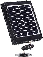 WILDGAMEPLUS Panel solar recargable, 14W 8000mAh 12V/1.2A 9V/1.6A 6V/2.4A IP54 Cargador a prueba de agua con cables para todas las cámaras 3G 4G Trail Hunting Game y luz LED de 12V WG-8000