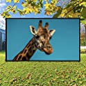 HHP 16:9 HD Foldable and Portable Anti-Crease 120 inch Projector Screen