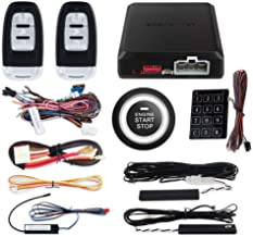 EASYGUARD EC002-p2 Smart Key RFID PKE Car Alarm System Auto Start & Engine Start Stop Button & Touch Password Entry Rolling Code