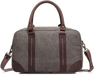 Mens Bag School Bag Outdoor Travel Rucksack,Vintage Briefcase Satchel Shoulder Bag Large Canvas Travel Bag High capacity