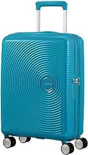 American Tourister Soundbox Spinner Equipaje de mano S (55 cm 41 L), Turquesa (Summer Blue)
