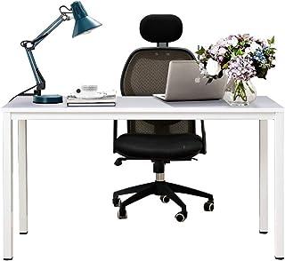 comprar comparacion Need 138x55cm Escritorios Mesa de Ordenador Escritorio de Oficina Mesa de Estudio Puesto de Trabajo Mesa de Conferencias T...