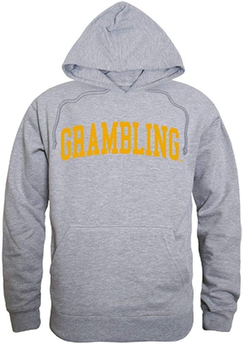 Grambling State University Tigers Game Day Hoodie Sweatshirt Heather Grey