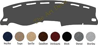 The ArtDeco Custom Dash Cover Fits for 2000-2006 Chevy Avalanche Dash Cover Dashboard Cover Mat Dash Pad - Premium Custom Carpet (Charcoal)