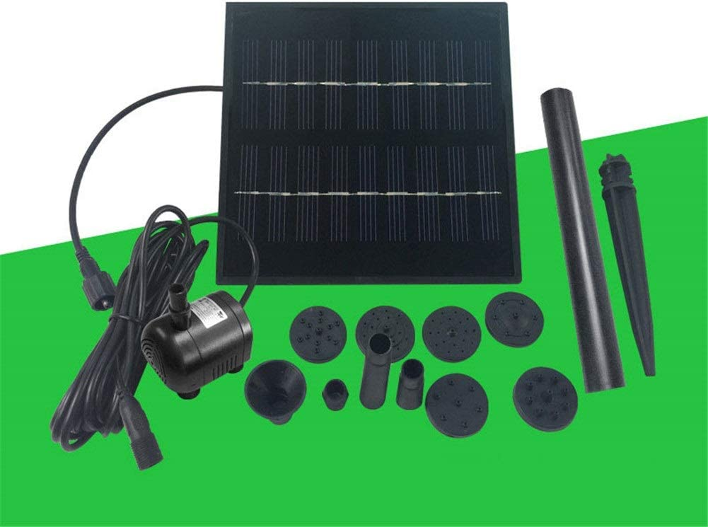 HJWL Solar Pond Water Philadelphia Mall Pump Panel Efficiency DC Beauty products high 1.8W