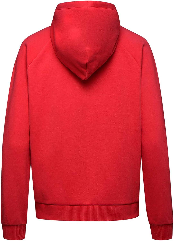 Diadora - Toison L.Hoodie FZ Sweat CHROMIA pour Femme 45048 Rouge Géranium
