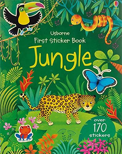 First Sticker Book Jungle (First Sticker Books series)