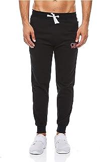 Cotton Fair Men's Cotton Slim Fit Jogger Pants Casual Drawstring Sports Pants Track Sweatpants with Elastic Waist and Pockets