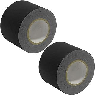 Seismic Audio - SeismicTape-Black604-2Pack - 2 Pack of 4 Inch Black Gaffer's Tape - 60 yards per Roll