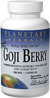 Goji Berry Full Spectrum Planetary Herbals 180 VCaps