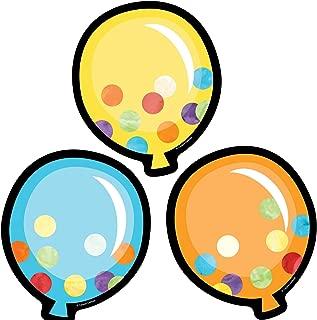 Carson Dellosa – Balloons Colorful Cut-Outs, Classroom Décor, 36 Pieces
