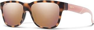 Smith Lowdown Slim 2 Chromapop Sunglasses, Honey Tortoise, Chromapop Rose Gold