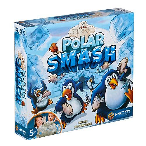 Polar Smash 55128 - Gioco di abilità logika da bambini, HCM Kinzel