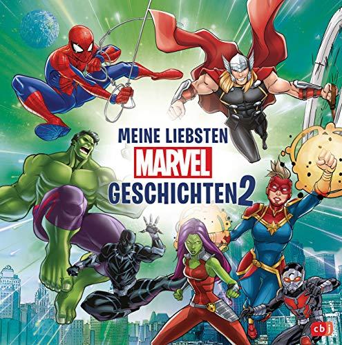 Meine liebsten Marvel-Geschichten 2: Perfekt für Zwischendurch: kurze Vorlesegeschichten für Kinder ab 6 Jahren (Die Marvel-zum-Vorlesen-Reihe 4)