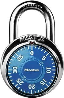 Master Lock 1506D Locker Lock, Combination Padlock, 1 Pack, Blue