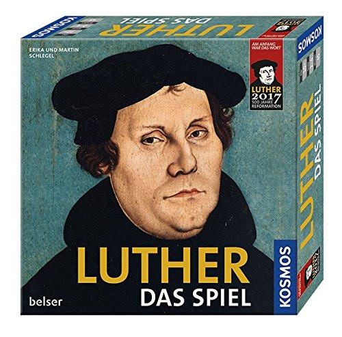 KOSMOS 692667 Luther - Das Spiel, Martin Luther und seine Zeit spielerisch erleben, Brettspiel