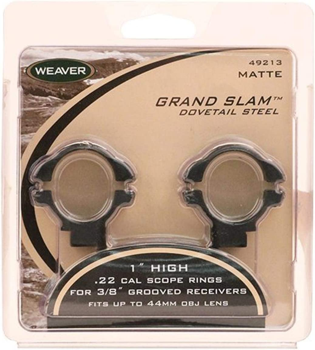 WEAVER Grand Slam 1-Inch Style High Rings .22 Popular Super sale period limited product
