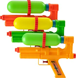 """Bedwina Water Guns - Squirt Gun and Water Guns for Kids and Adults - 10"""" Water Tank Squirter Birthday Party Favors, Beach ..."""