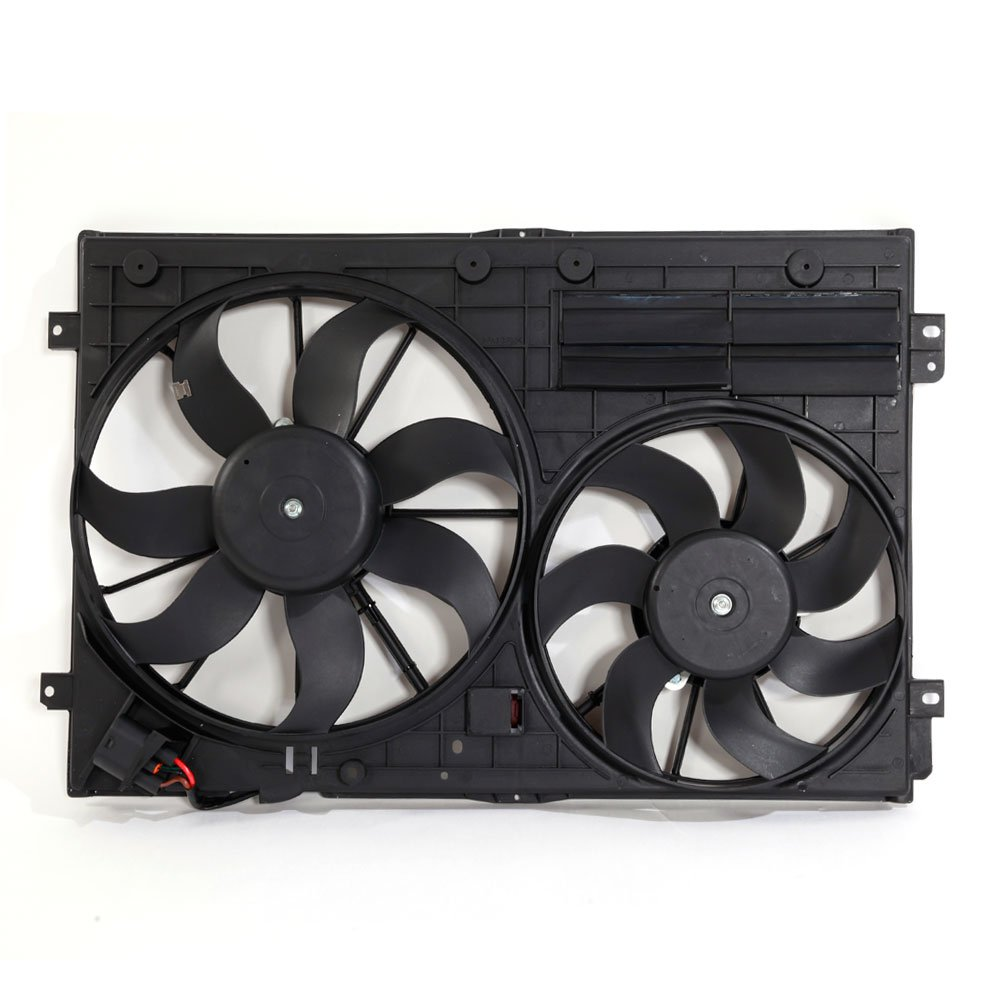 Motorhot Engine Radiator Dual Fan Volks Sales Manufacturer regenerated product for sale Assembly with Compatible